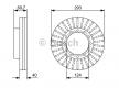 Įsigykite BOSCH Stabdžių diskas 0 986 479 D14 skirtus FUSO (MITSUBISHI) už prieinamą kainą