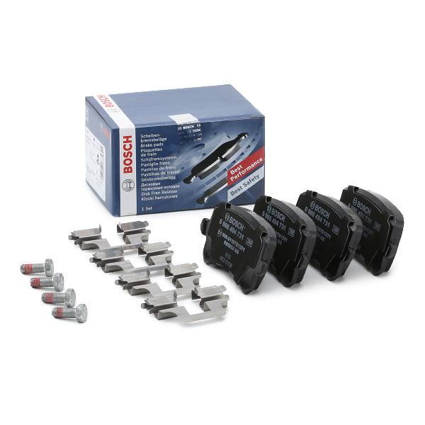 BOSCH Brake Pad Set, disc brake 0 986 494 731
