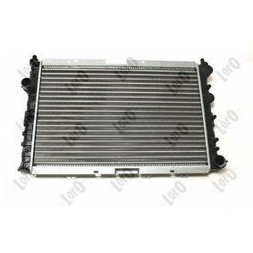 Radiatore motore Motore e componenti motore Riscaldamento e raffreddamento motore Frigair 0113.3008