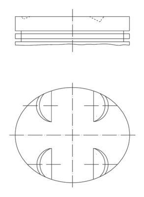 MAHLE ORIGINAL: Original Motor Kolben 005 24 00 ()
