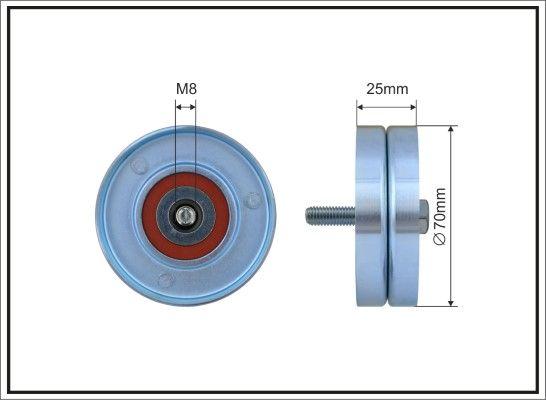 Poulie renvoi / transmission, courroie trapézoïdale à nervures CAFFARO 01-14 : achetez à prix raisonnables
