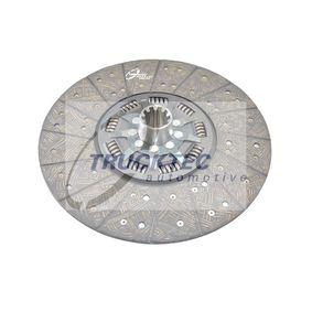 Kupplungsscheibe TRUCKTEC AUTOMOTIVE 01.23.125 mit 15% Rabatt kaufen