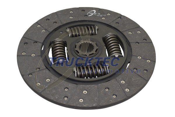 TRUCKTEC AUTOMOTIVE: Original Kupplungsscheibe 01.23.168 ()