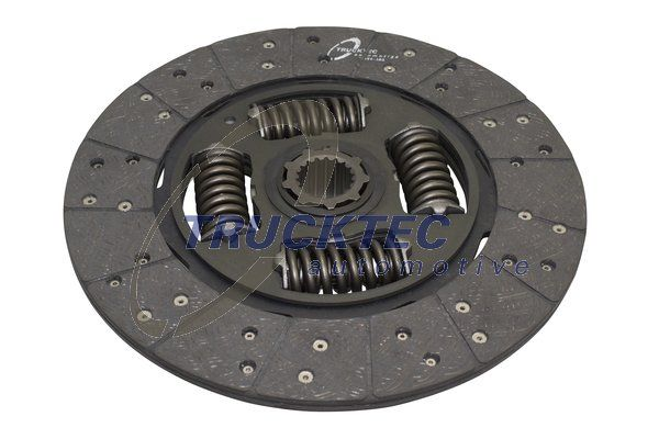 Clutch plate 01.23.168 TRUCKTEC AUTOMOTIVE — only new parts