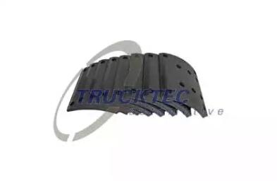 01.35.003 TRUCKTEC AUTOMOTIVE Bremsbelagsatz, Trommelbremse für DENNIS online bestellen