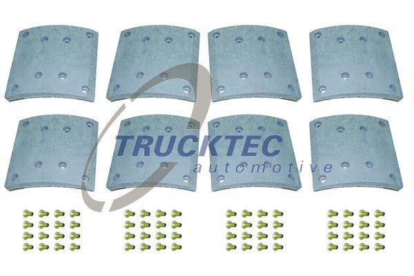 01.35.005 TRUCKTEC AUTOMOTIVE Bremsbelagsatz, Trommelbremse für DENNIS online bestellen