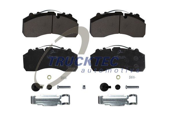 TRUCKTEC AUTOMOTIVE Zestaw klocków hamulcowych, hamulce tarczowe do MAN - numer produktu: 01.35.211