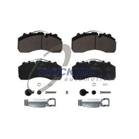 TRUCKTEC AUTOMOTIVE Bremseklodser 01.35.211 - køb med 15% rabat
