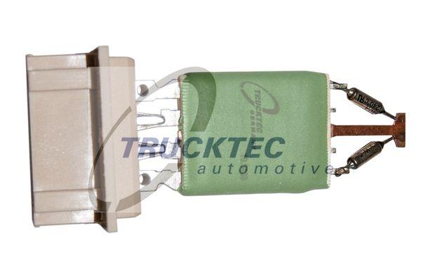 LKW Widerstand, Innenraumgebläse TRUCKTEC AUTOMOTIVE 01.58.068 kaufen