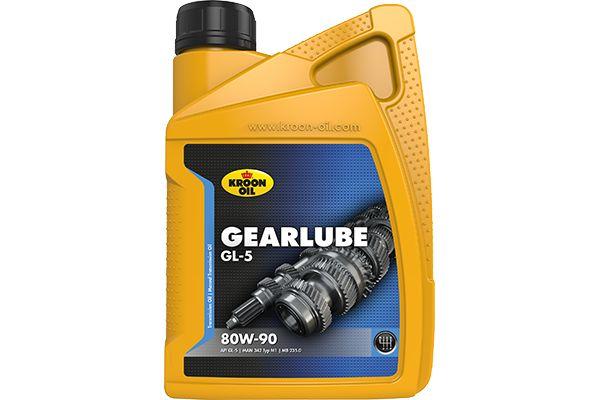 Comprare 01206 KROON OIL GEARLUBE 1l, 80W-90, API GL-5 Olio gruppo conico e differenziale 01206 poco costoso