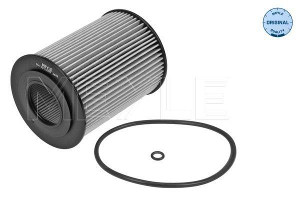 MOF0021 MEYLE mit Dichtung, Filtereinsatz, ORIGINAL Quality Innendurchmesser: 31,5mm, Ø: 72mm, Höhe: 95mm Ölfilter 014 322 0005 günstig kaufen