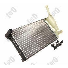 Radiador, arrefecimento do motor ABAKUS 016-017-0023