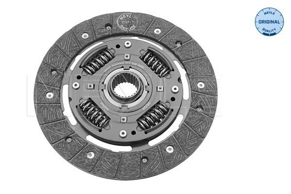 Clutch disc 017 200 2600 MEYLE — only new parts