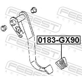 0183GX90 Pedalbelag, Kupplungspedal FEBEST 0183-GX90 - Große Auswahl - stark reduziert