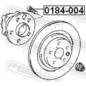 0184004 Radbolzen FEBEST 0184-004 - Große Auswahl - stark reduziert