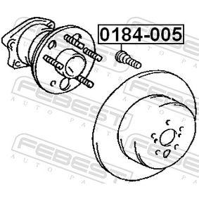 0184005 Radbolzen FEBEST 0184-005 - Große Auswahl - stark reduziert