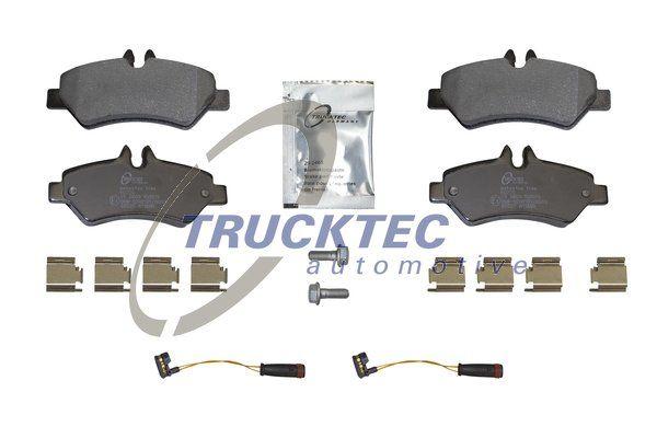 Brake pad set 02.35.195 TRUCKTEC AUTOMOTIVE — only new parts