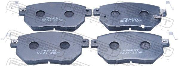 Bremsklötze FEBEST 0201-Z50F