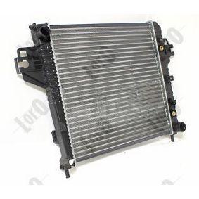Radiator, engine cooling ABAKUS 023-017-0005 Aluminium