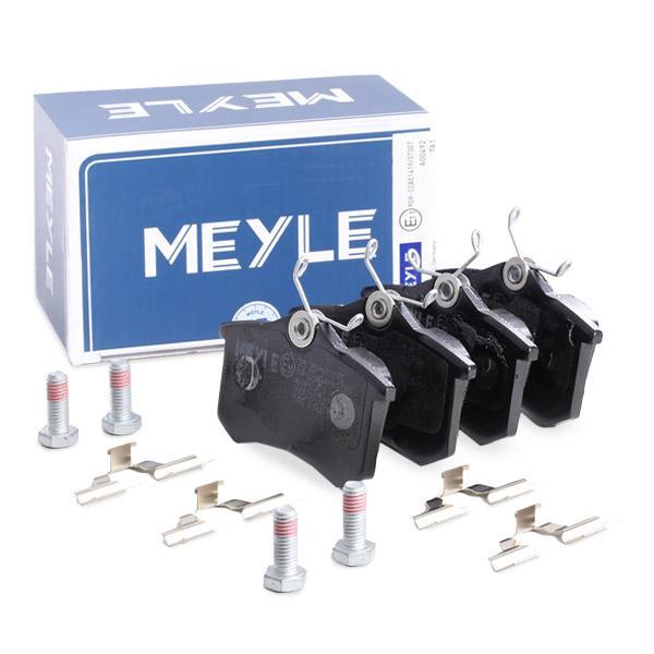 MEYLE | Bremsbelagsatz, Scheibenbremse 025 209 6117/PD