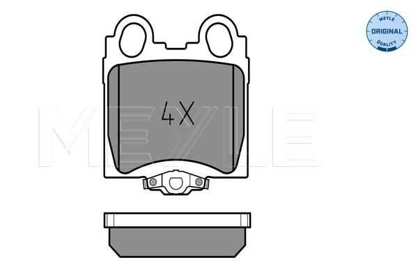 Original LEXUS Bremssteine 025 234 2915/W