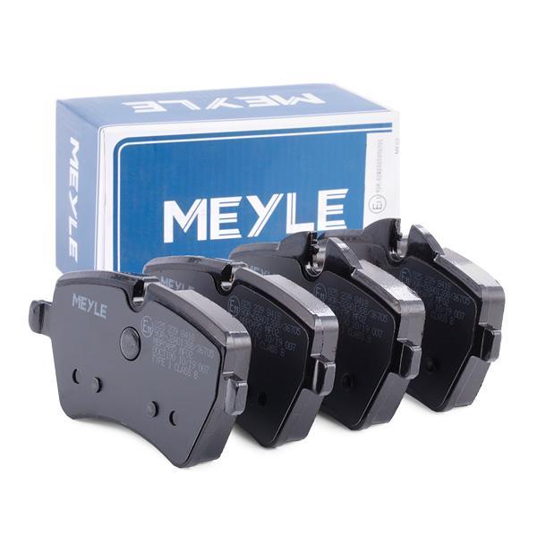 MEYLE | Bremsbelagsatz, Scheibenbremse 025 239 8418