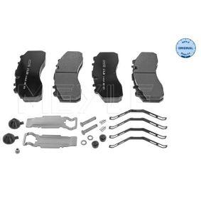 Bremsbelagsatz, Scheibenbremse MEYLE 025 290 8730/S mit 15% Rabatt kaufen