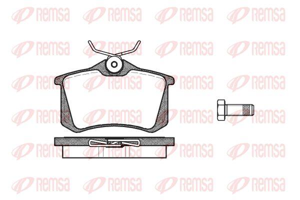 PCA026310 KAWE Hinterachse, mit Klebefolie, mit Schrauben, 11, mit Zubehör Höhe: 52,9mm, Dicke/Stärke: 15mm Bremsbelagsatz, Scheibenbremse 0263 10 günstig kaufen