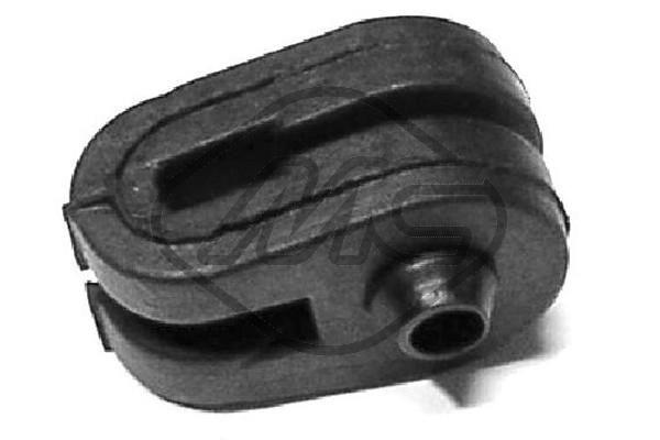 OE Original Halter, Abgasanlage 02763 Metalcaucho
