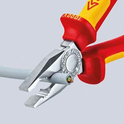 0302180 Kombinationszange KNIPEX 03 02 180 - Große Auswahl - stark reduziert