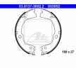 Bremsbackensatz, Feststellbremse 03.0137-3052.2 — aktuelle Top OE 583052PA10 Ersatzteile-Angebote