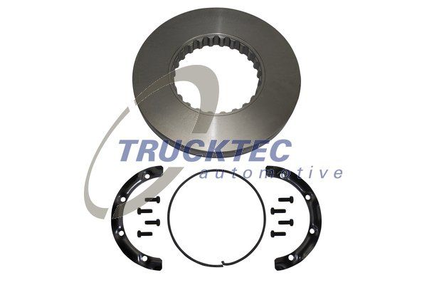 TRUCKTEC AUTOMOTIVE Tarcza hamulcowa do VOLVO - numer produktu: 03.35.045
