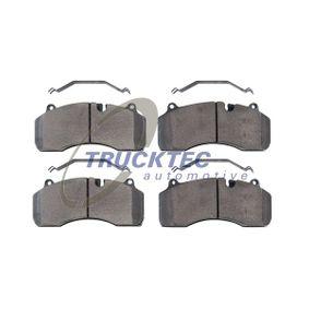 TRUCKTEC AUTOMOTIVE Bromsbeläggssats, skivbroms 03.35.116 - köp med 15% rabatt