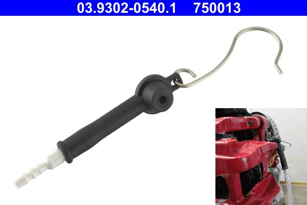Hose, heat exchange heating 03.9302-0540.1 ATE — only new parts