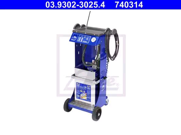 03.9302-3025.4 ATE Töltő / légtelenítő, fékhidraulika - vásároljon online