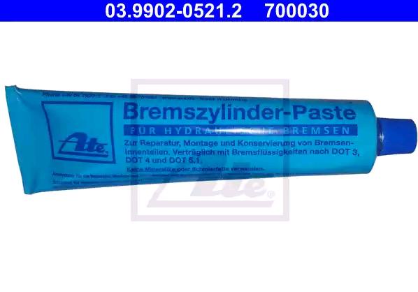 ATE   Pasta, stabdžiai / sankabos hidraulikos dalys 03.9902-0521.2