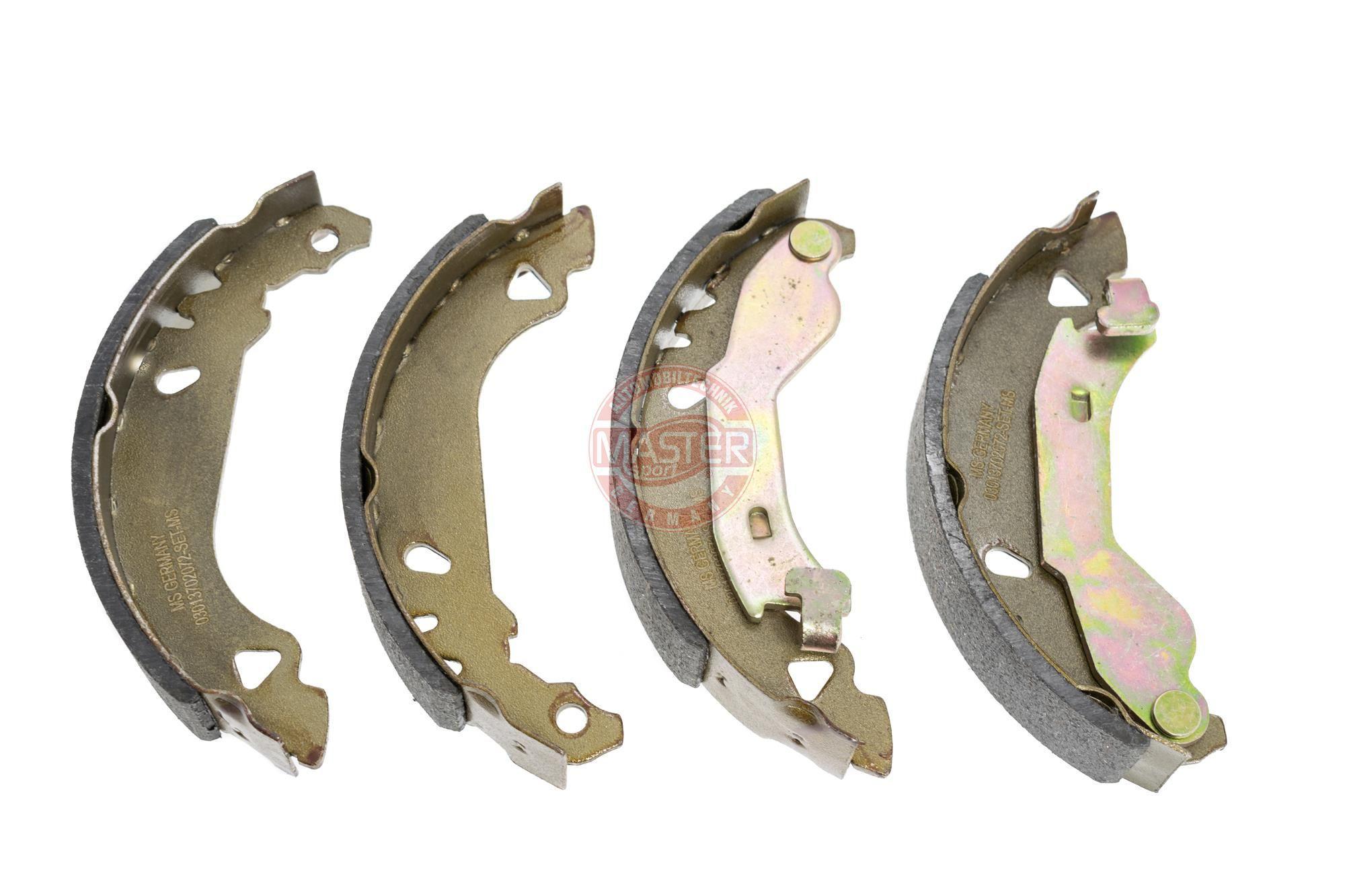 Original FIAT Bremsbeläge für Trommelbremsen 03013702072-SET-MS