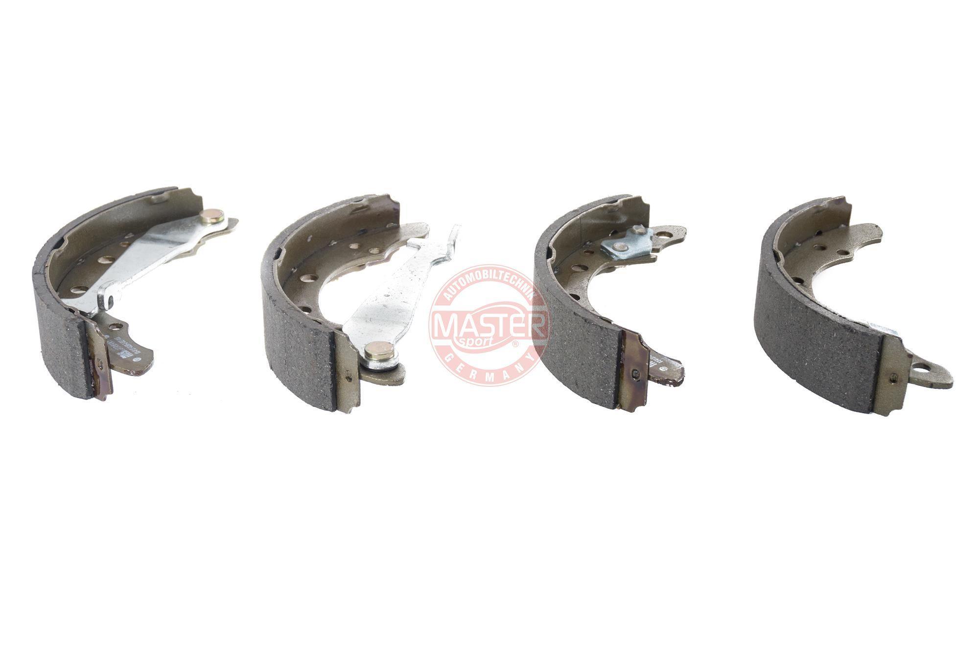 Original TALBOT Bremsbeläge für Trommelbremsen 03013702682-SET-MS
