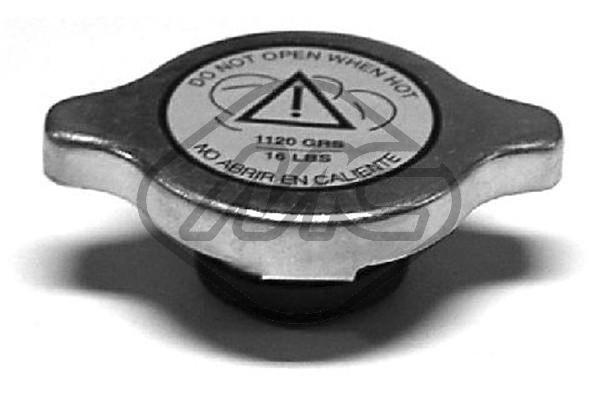 Metalcaucho Verschlussdeckel, Kühler 03609