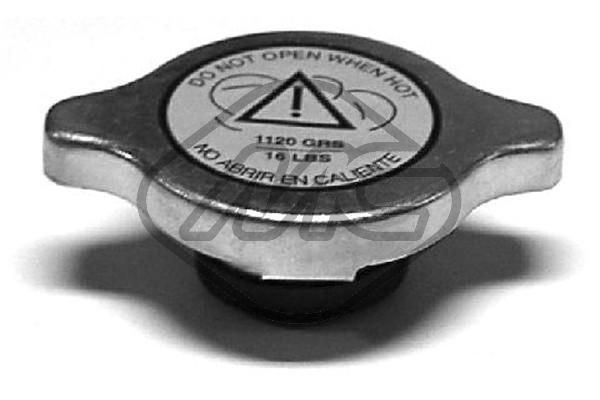 Metalcaucho Radiatoriaus dangtelis 03609