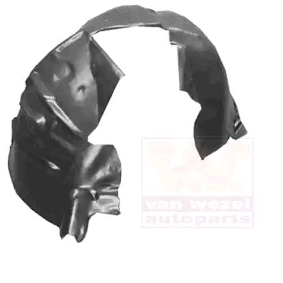 Buy original Panelling mudguard VAN WEZEL 0378434