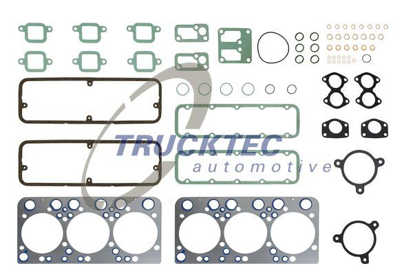 TRUCKTEC AUTOMOTIVE Packningssats, topplock till SCANIA - artikelnummer: 04.10.058