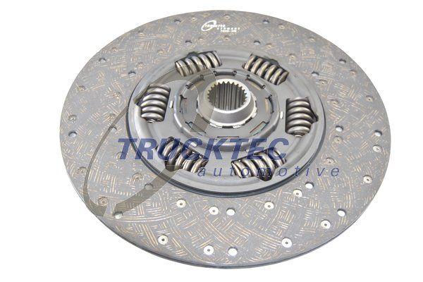 TRUCKTEC AUTOMOTIVE Tarcza sprzęgła do SCANIA - numer produktu: 04.23.107