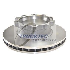 Bremsscheibe TRUCKTEC AUTOMOTIVE 04.35.080 mit 15% Rabatt kaufen