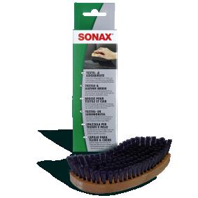 Купете 416741 SONAX Textile & Leather Brush, ширина: 45мм, височина: 195мм Четка за чистене салона на автомобила 04167410 евтино
