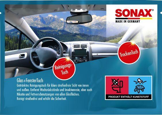 418100 SONAX Beutel, Breite: 0,6cm, Gewicht: 0,021kg, Shampoo+ Trockentücher 04181000 günstig kaufen