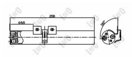 OE Original Klimatrockner 042-021-0010 ABAKUS