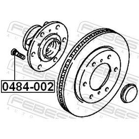 0484002 Radbolzen FEBEST 0484-002 - Große Auswahl - stark reduziert