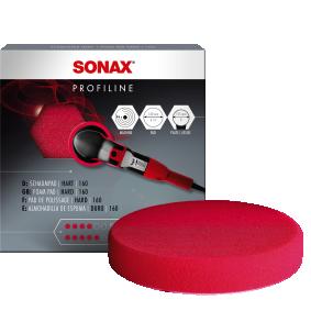 Pirkti 493100 SONAX Polishing sponge red 160 (hard) Poliruoklio antgalis 04931000 nebrangu
