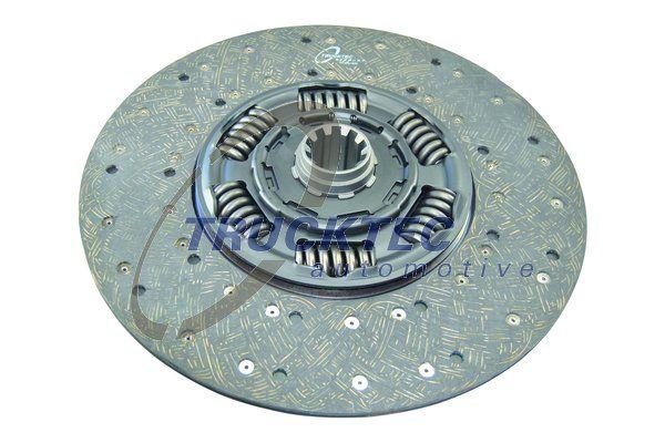 TRUCKTEC AUTOMOTIVE Kupplungsscheibe für MERCEDES-BENZ - Artikelnummer: 05.23.100
